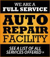 We are a full service auto repair facility! See a list of all services offered.