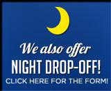 We also offer night drop-off! Click here for the form!