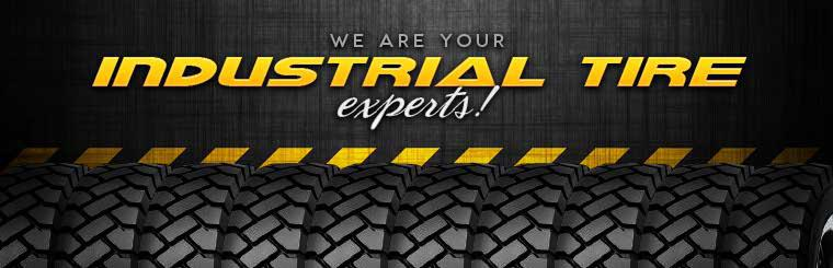 We are your industrial tire experts! Visit us today or click here to browse tires.