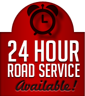 24 Hour Road Service Available!