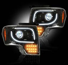 Custom headlamps from Recon Headlamps
