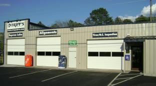 Tripp's Tire Service, Winterville NC Location