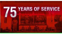 75 Years of Service