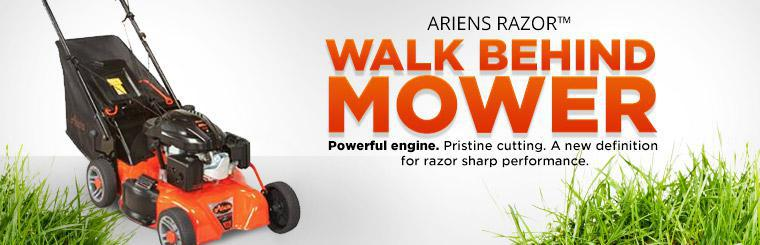 Ariens Razor™ Walk Behind Mower: Contact us for details.