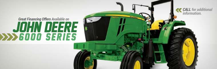 Great Financing Offers Available on John Deere 6000 Series: Call for additional information.