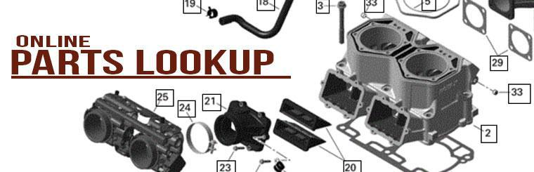 Ski-Doo and Can-Am parts lookup