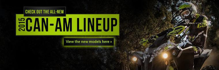 Click here to view the all-new 2015 Can-Am lineup!