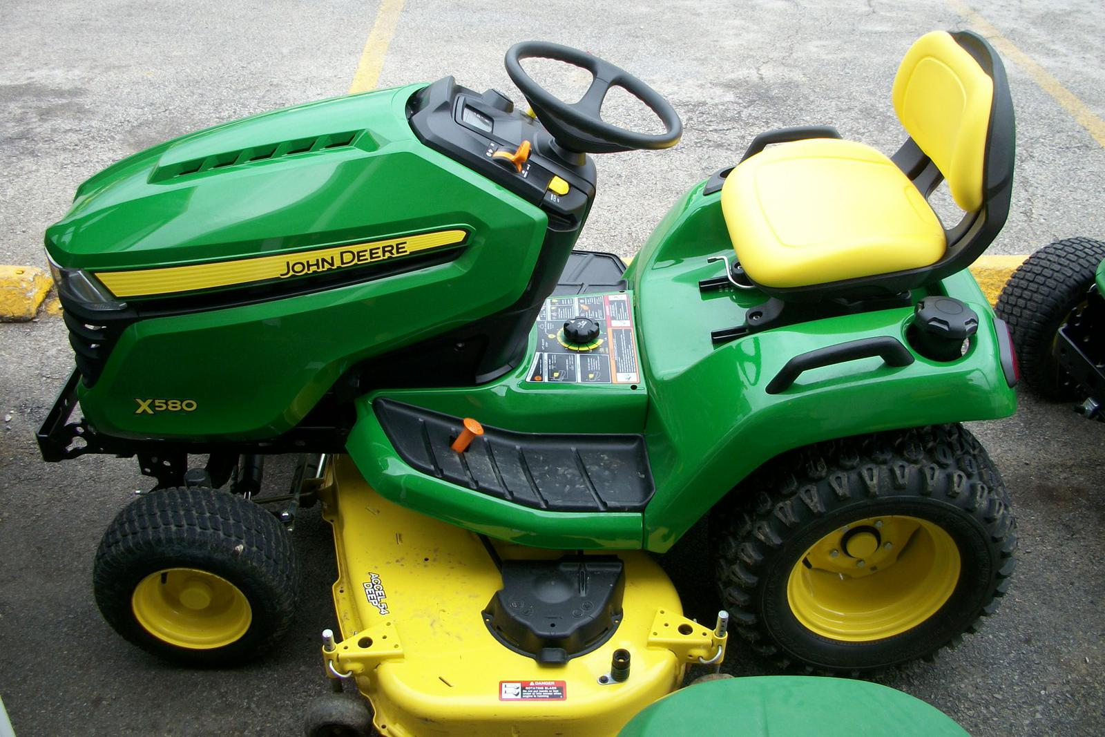 2017 John Deere X580 Tractor with 54-inch Deck for sale in Columbia MO | Farm Power Lawn u0026 Leisure (573) 442-1139 & 2017 John Deere X580 Tractor with 54-inch Deck for sale in ...