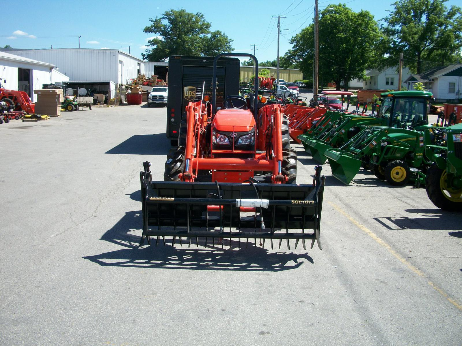 2008 Kubota M7040 4wd Rops For Sale In Columbia Mo Farm Power Lawn Wiring Diagram 006