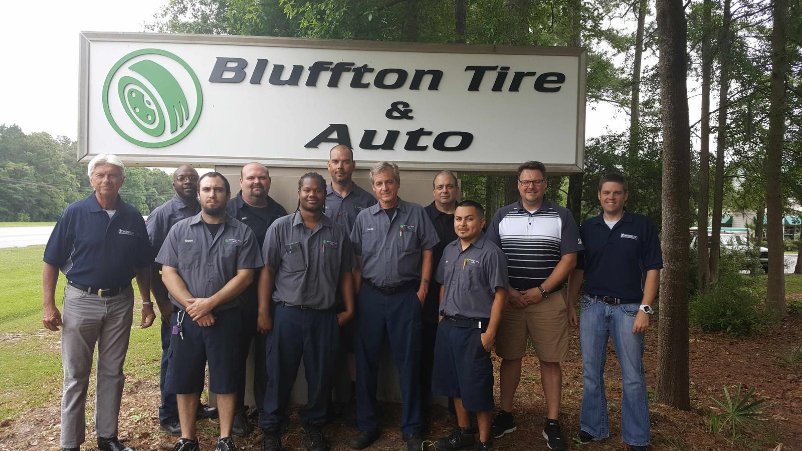 website pic of bluffton tire