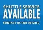 Shuttle Service Available - Contact Us for Details.