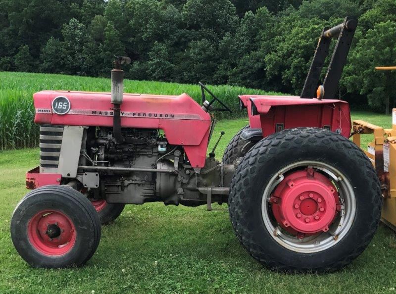 1968 Massey Ferguson MF165 for sale in Lexington, NC | Sink Farm ...