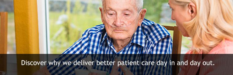 Discover why we deliver better patient care day in and day out.