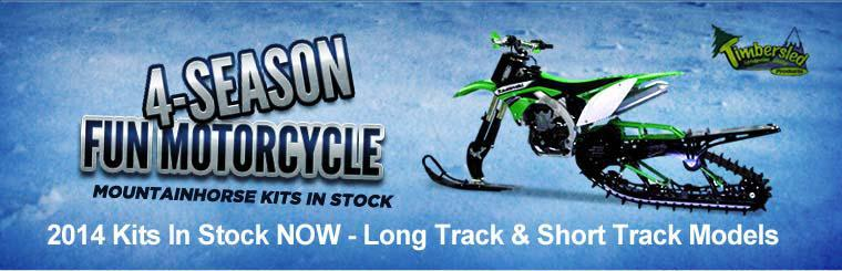 4-Season Fun Motorcycle Mountainhorse Kits in Stock