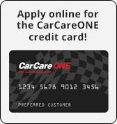 Apply online for the CarCareONE credit card!