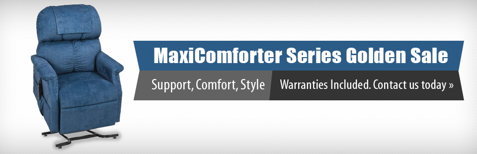 MaxiComforter Series Golden Sale: Get support, comfort, and style with warranties included! Click here for details.