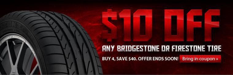 Bridgestone Tire Sale
