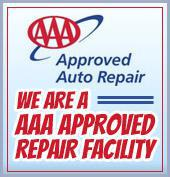 We are a AAA Approved Repair Facility
