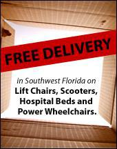 Free delivery in Southwest Florida on select items.