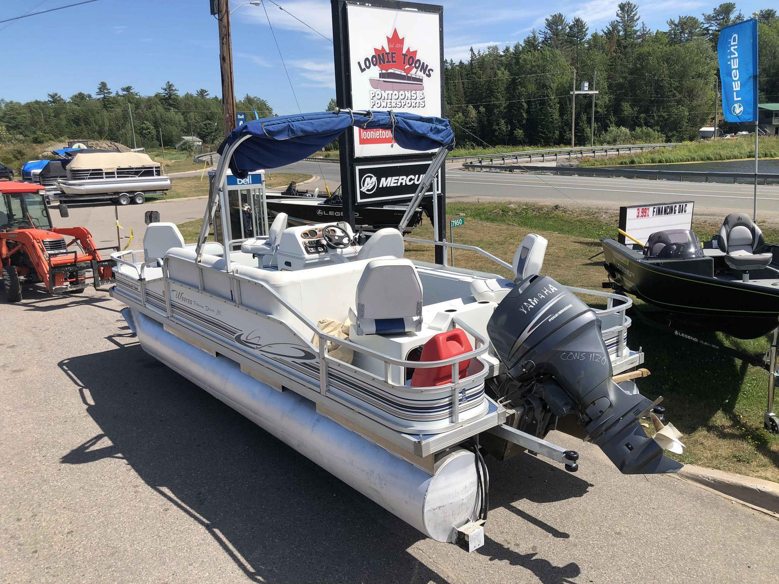 2003 Weeres Four Point Deluxe Fishing Pontoon
