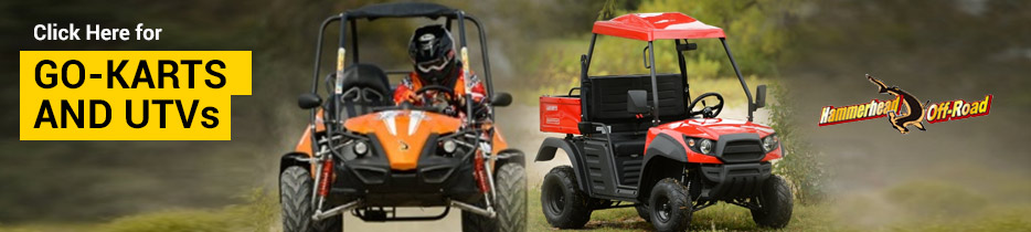 Click Here for Go-Karts and UTVs