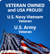 Veteran Owned and USA Proud