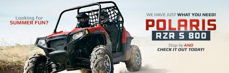 2014 Polaris RZR S 800: Stop by and check it out today!