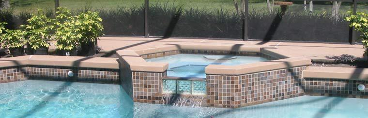 In-Ground Pool and Hot tub