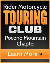 Rider Motorcycle Touring Club. Pocono Mountain Chapter. Learn more.
