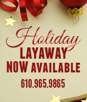 Holiday Layaway NOW Available