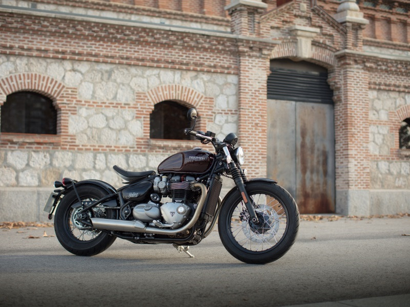 2018 Triumph Bonneville Bobber For Sale In Norwich Ct Street
