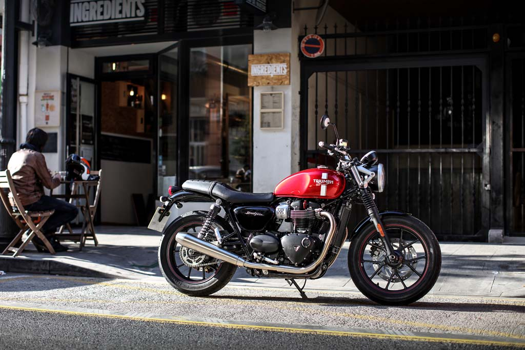 2018 triumph street twin (color) for sale in norwich, ct | street