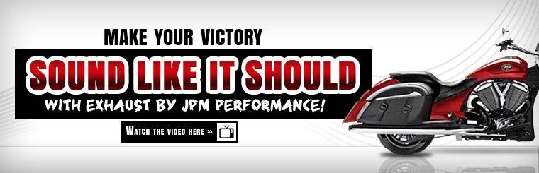 Make your Victory sound like it should with exhaust by JPM Performance! Click here to watch the video.