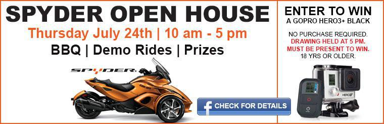 SPYDER OPEN HOUSE