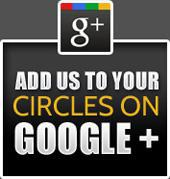 Add us to your circles on Google +