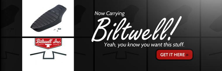 We are now carrying Biltwell! Click here to shop online.