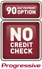 No Credit Check, by Progressive