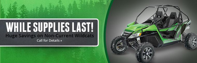 Get huge savings on non-current Wildcats while supplies last! Click here to contact us.