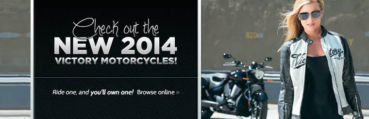 Check out the new 2014 Victory motorcycles!
