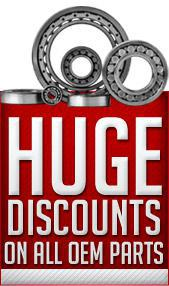 Huge discounts on all OEM parts!
