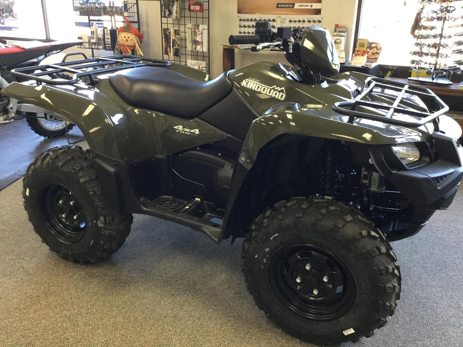 2017 Suzuki KINGQUAD 750 for sale in Ronan, MT. S & S Sports