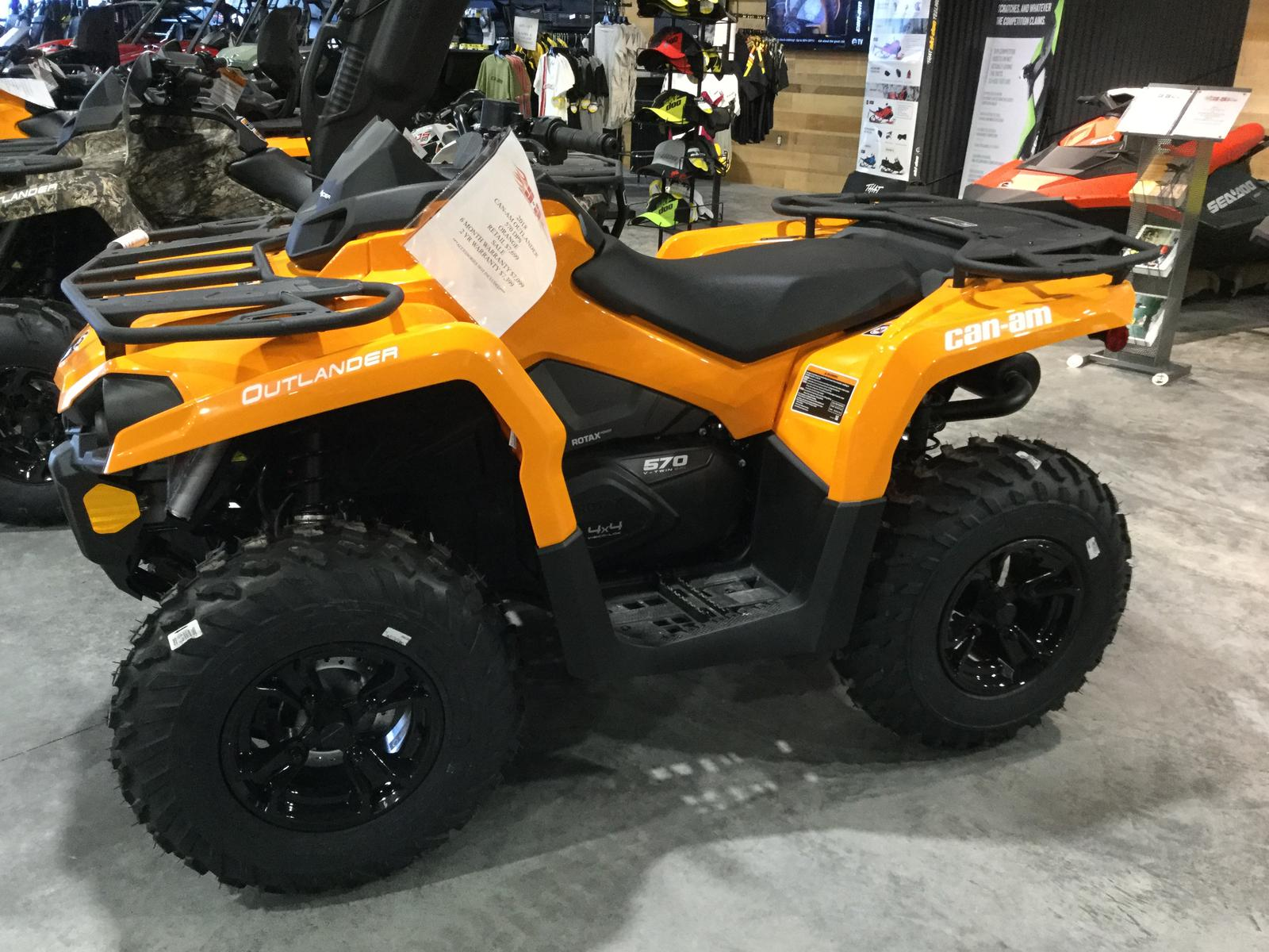 2018 Can Am OUTLANDER DPS 570 for sale in Ronan MT