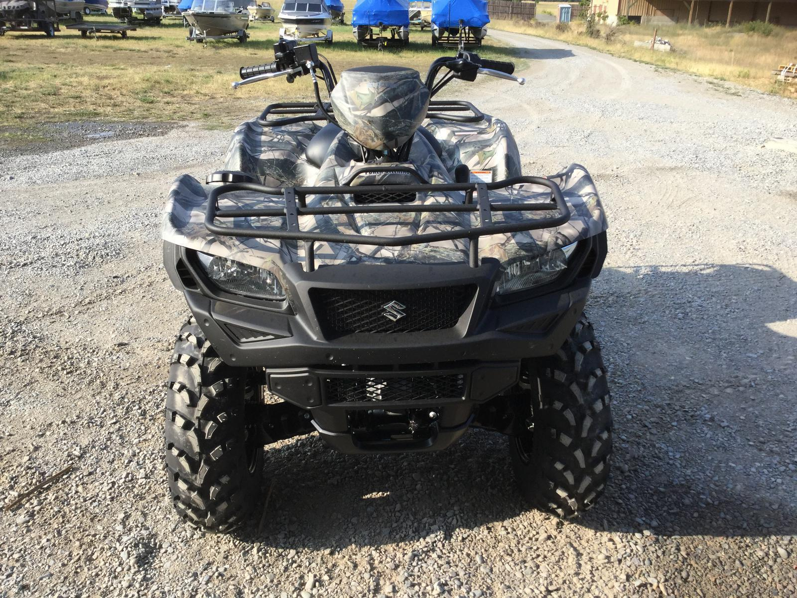 2018 Suzuki Kingquad 500 Power Steering For Sale In Thompson Falls Extra Fan Carry 1