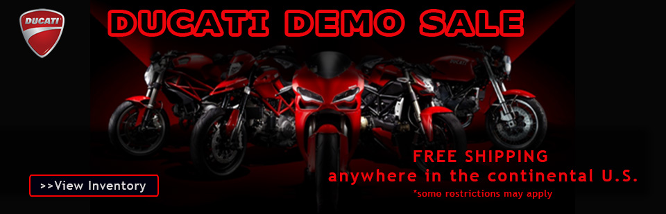 Ducati Demo Sale at Wagner Motorsports