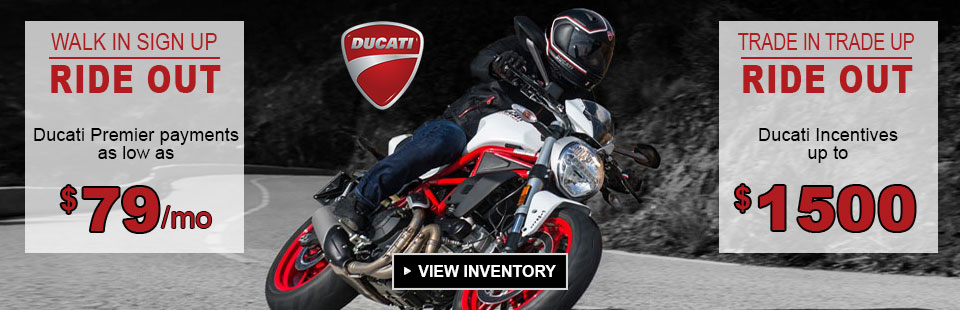 Ride Out with a Ducati Special Offer