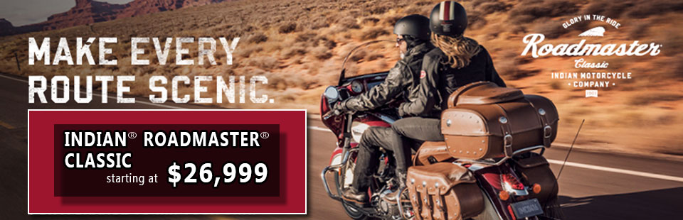 Introducing the New Indian Roadmaster Classic