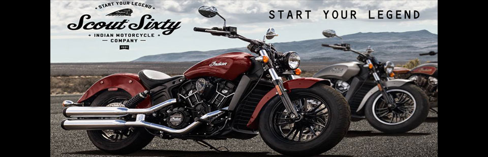 2016 Indian Scout Sixty - Start Your Legend