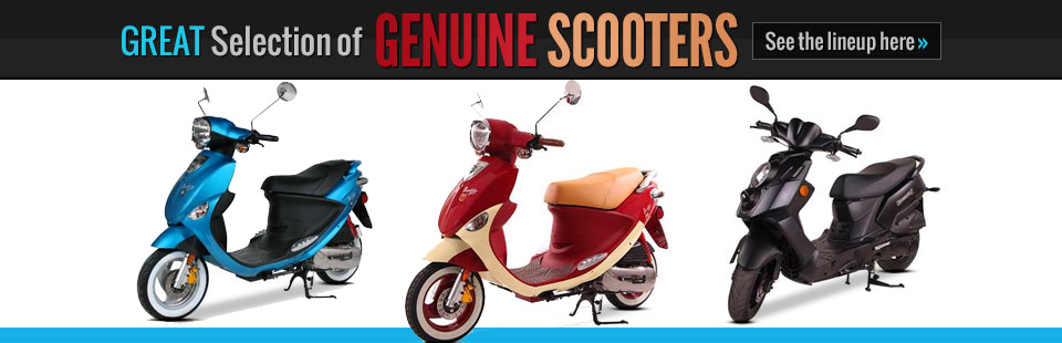Genuine Scooters at Wagner Motorsports