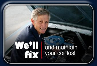 We'll fix and maintain your car fast.