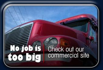 No job is too big. Check out our commercial site.